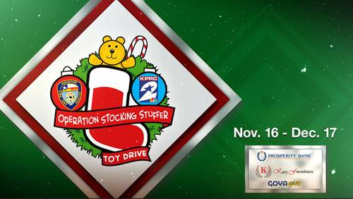 Stocking Stuffer Toy Drive: Volunteers deliver donated toys