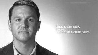 U.S. Marine Corps Sgt. Bill Derrick