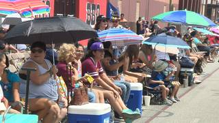 Sun, heat real grand marshals of Battle of Flowers Parade