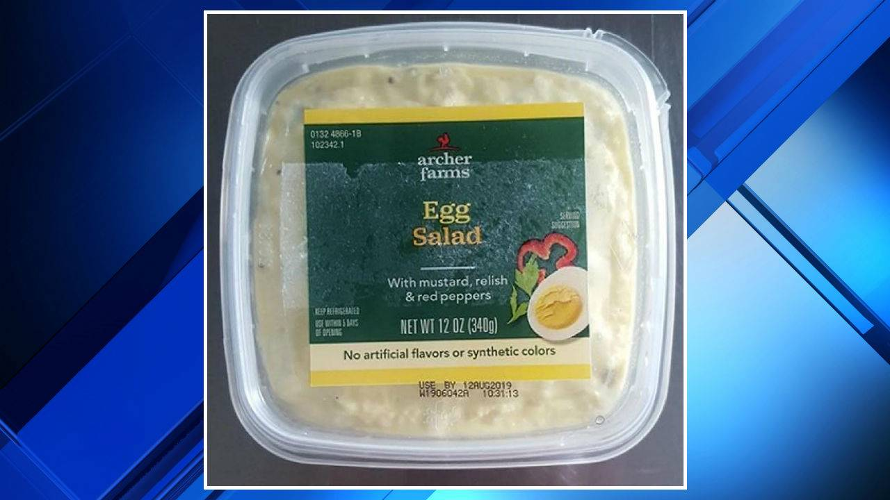 Egg salad, tuna salad, Thai lobster salad, deviled egg