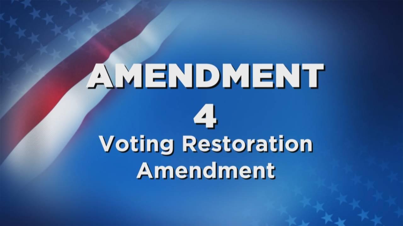 Amendment 4 Voting Restoration Amendment