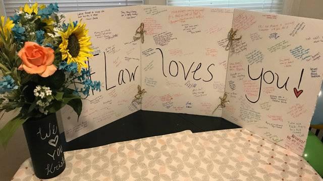 UF student shot in Las Vegas returns home 2