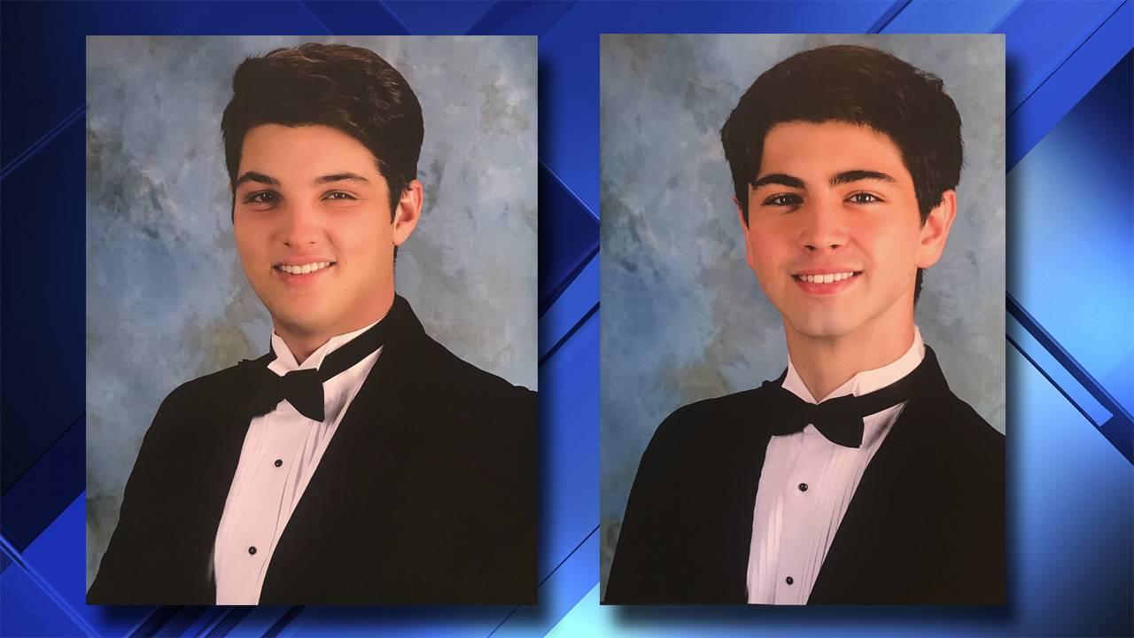 Barrett Riley and Edgar Monserratt senior class photos