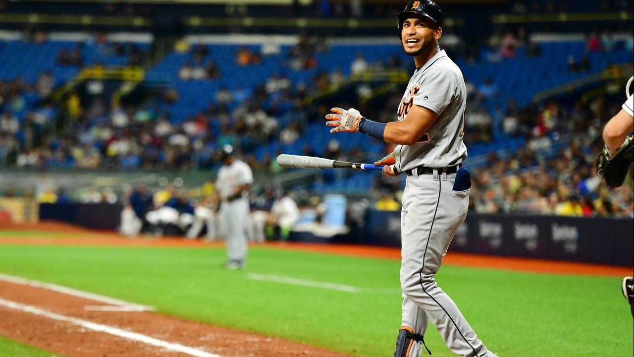 Victor Reyes Detroit Tigers vs Rays 2019