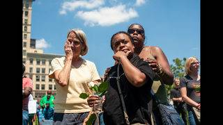 Photos: Dayton residents deal with aftermath of mass shooting