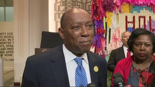 Mayor Turner hosts ceremony to recognize 1-year Hurricane Harvey anniversary