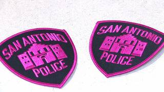 Pink and blue, SAPD adding color to uniforms for breast cancer awareness
