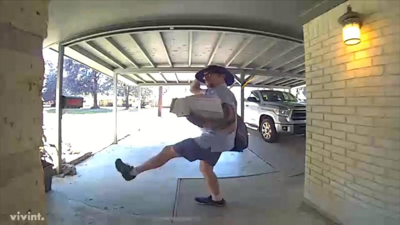 Mailman Seen Dancing for Doorbell Camera: 'I Try to