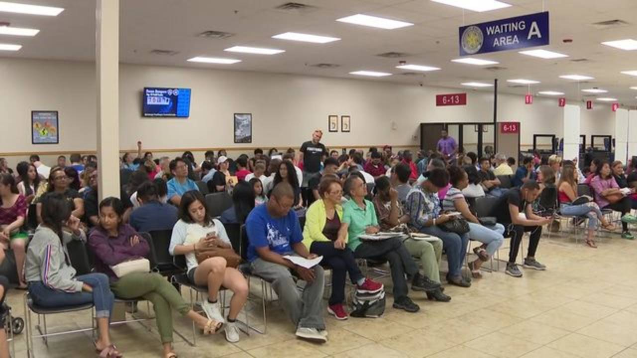 long lines at local dps centers