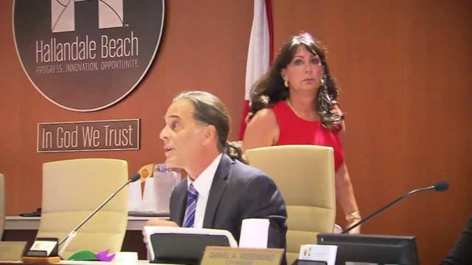 Mayor Joy Cooper walks out of meeting