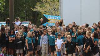 Providence School fills 53-foot trailer with supplies for Bahamas relief