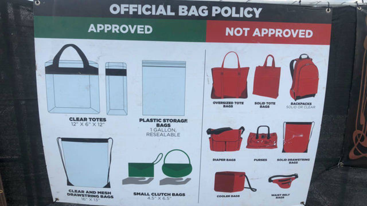 Bags you can bring