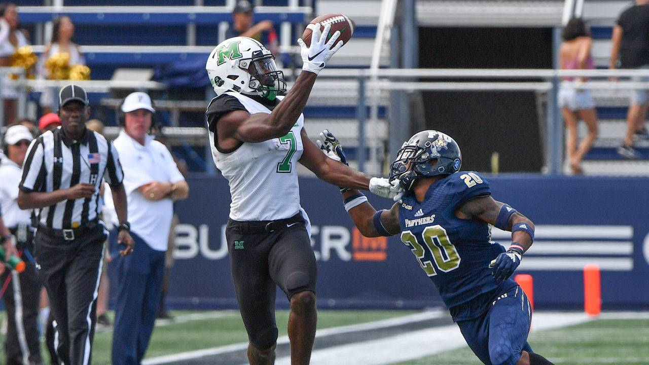Marshall Spoils Fiu S Day With 28 25 Victory