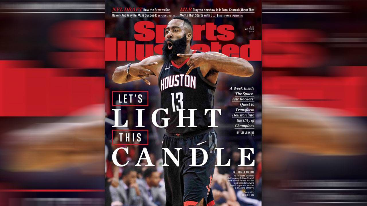 c7bd81f106a Rockets  James Harden graces Sports Illustrated cover