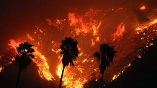 Wildfires rage across Southern California
