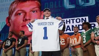 Cowboys select linebacker, not receiver, get Boise's Vander Esch