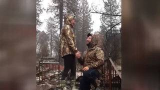 Couple gets engaged amid Camp Fire rubble