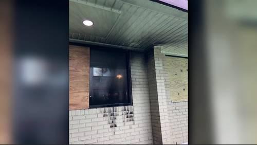Molotov cocktail thrown at Houston restaurant