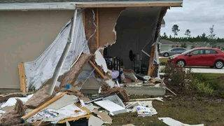 FHP: 15-year-old driving Jeep that crashed into house