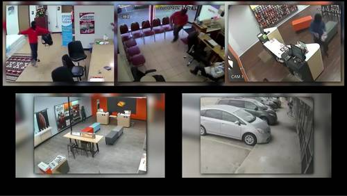 Same man believed to be responsible for string of armed robberies