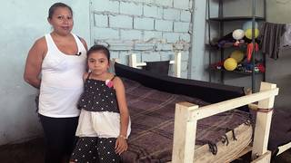 Honduran mother and daughter share concerns of separation