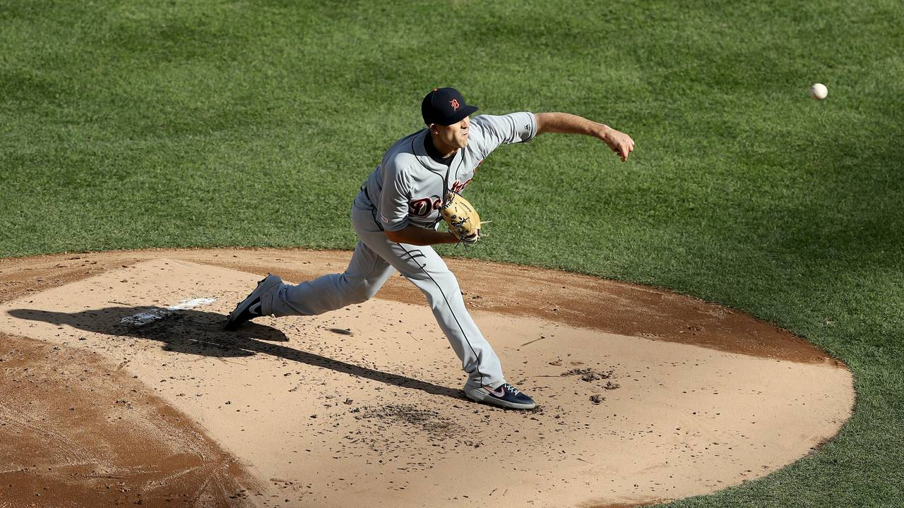 Matt Boyd Detroit Tigers vs Yankees 2019 13 strikeout game