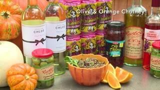 H-E-B Backyard Kitchen: Olive & Orange Chutney