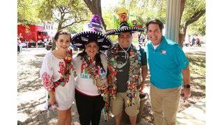 Fiesta Fiesta kicks off the city's biggest party! See who showed up @ Hemisfair