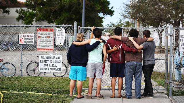 Armed school resource officer stayed outside as Florida