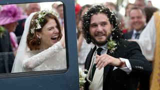 'Game of Thrones' stars Kit Harington, Rose Leslie wed