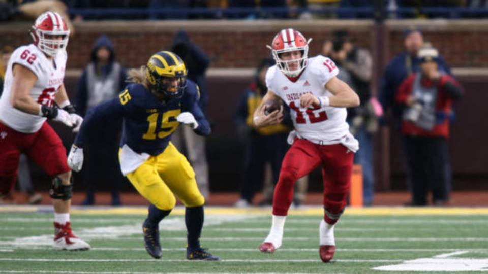 Peyton Ramsey run Indiana vs Michigan 2018
