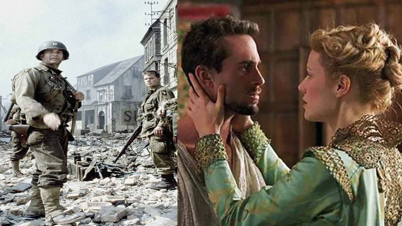 'Saving Private Ryan' vs 'Shakespeare in Love'