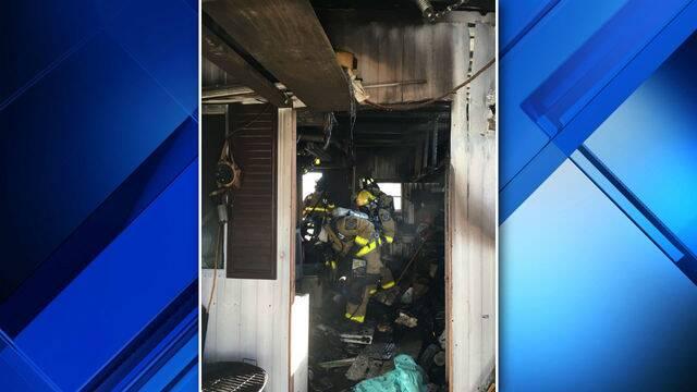 Micco utility room fire 2 2-24-18