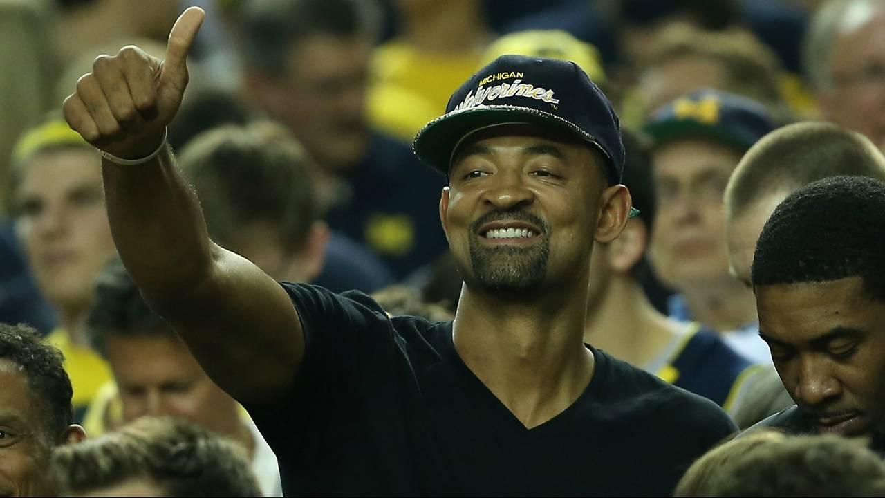 Juwan Howard Michigan basketball hat
