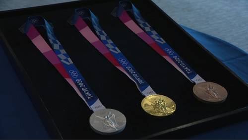 Tokyo 2020: New Olympic medals unveiled, and they're made from old electronics