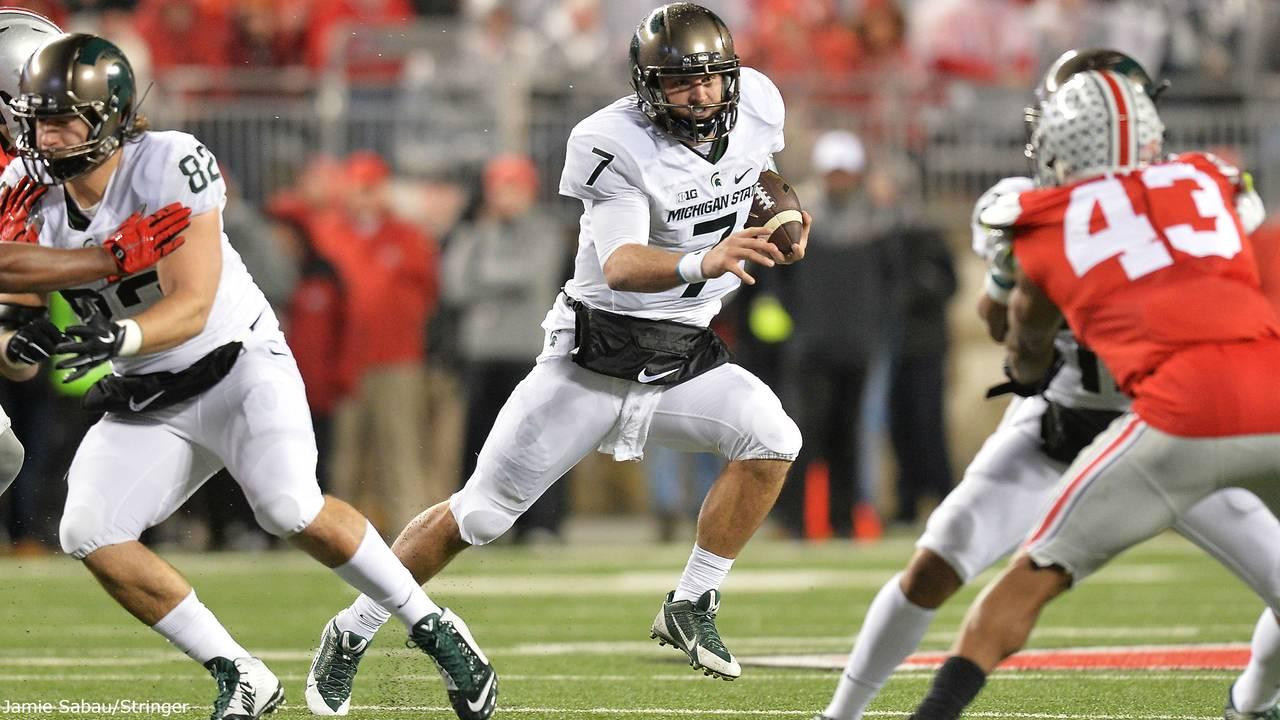 Tyler O'Connor Michigan State QB