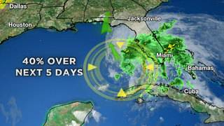 Eyes trained on Gulf as storms develop near Florida