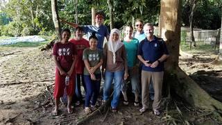 KPRC2's journey to Borneo to save the wildlife