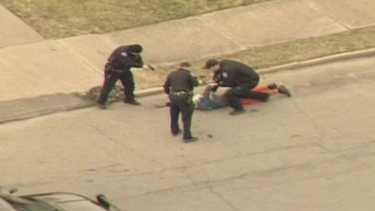 Man arrested police chase Macomb County to Detroit 1