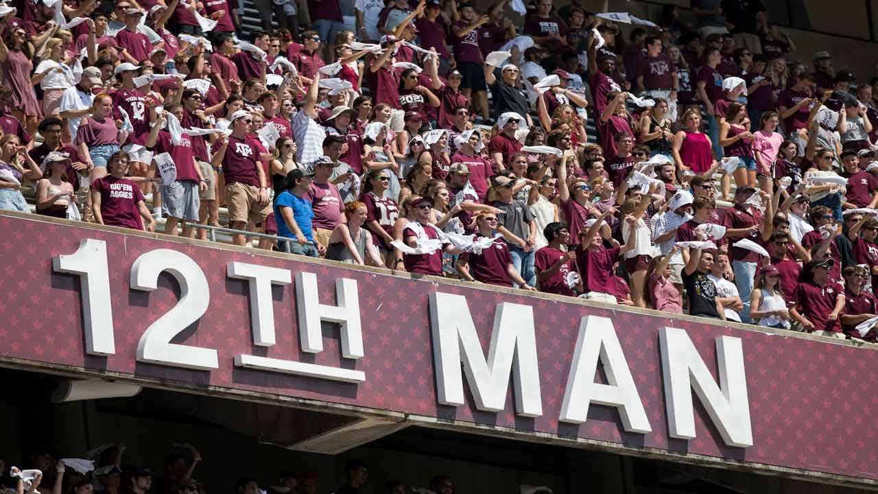12th Man Texas A&M Aggies 2018