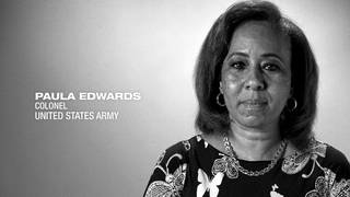 U.S. Army Col. Paul Edwards shares her story