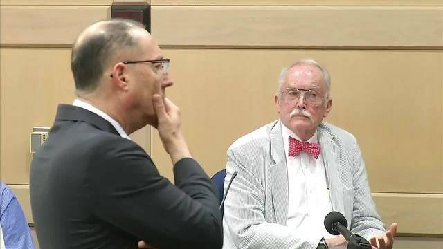 Ken Padowitz and Dr. Ronald Wright in penis defense murder trial