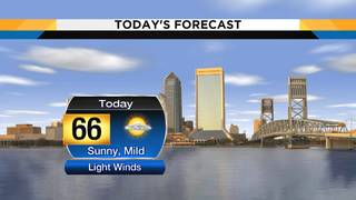 Warm temperatures, dry skies return today