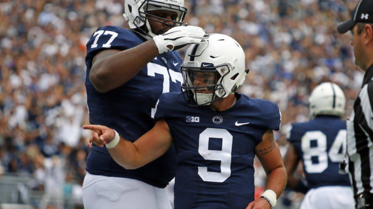 Trace McSorley Penn State football 2018