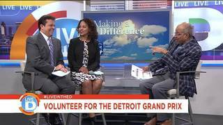 Want to Volunteer at the Detroit Grand Prix?