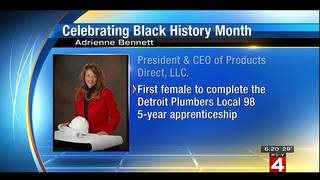 Adrienne Bennett - The First African-American Female Master Plumber