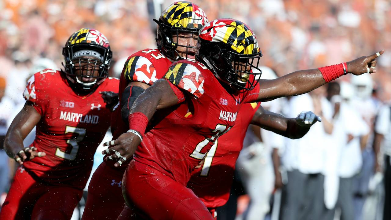 Maryland football vs Texas 2018