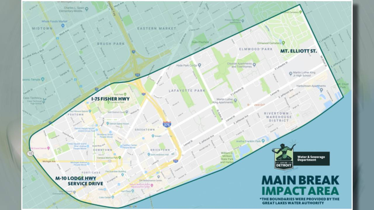 break impact map detroit water main break 2019 cobo detroit_1547423686743.jpg.jpg