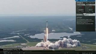 SpaceX launches newest Falcon 9 rocket