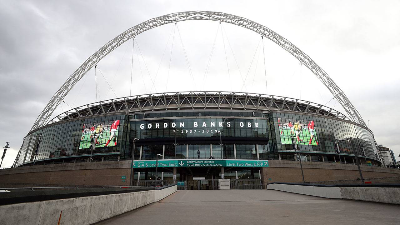 Wembley Stadium exterior - Getty Images